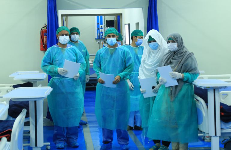 ICMC Inaugurates a New COVID-19 Hospital Ward in Pakistan