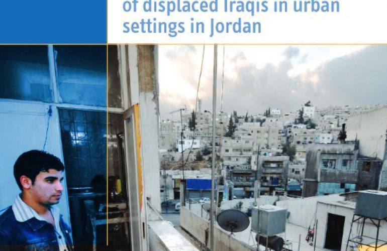 Protection, Mobility and Livelihood Challenges of Displaced Iraqis in Urban Settings in Jordan 1