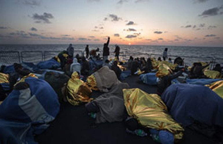 Protection at Sea: 125 Organizations Deliver Statement to Human Rights Council