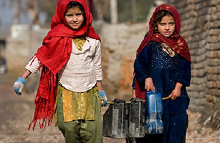 Afghan Refugees in Pakistan Benefit From Improved Access to Sanitation Services