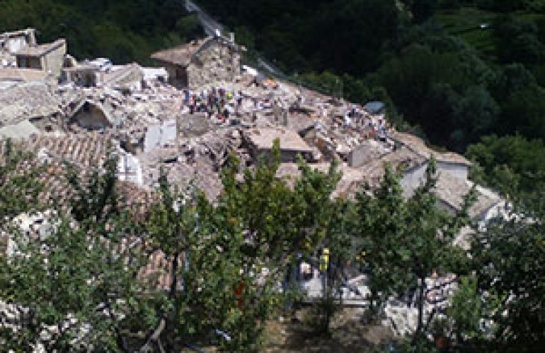 ICMC Stands in Solidarity With Those Affected by the Earthquake in Central Italy