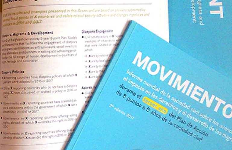Movement: A Global Civil Society Report on Progress And Impact on Migrants' Rights And Development
