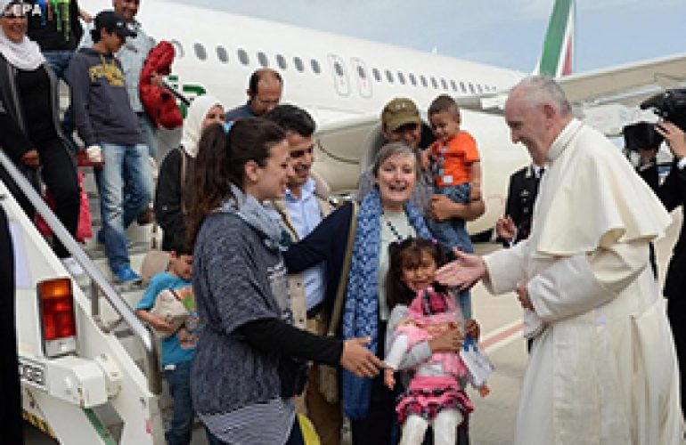 The Vatican Welcomes Three New Syrian Refugee Families