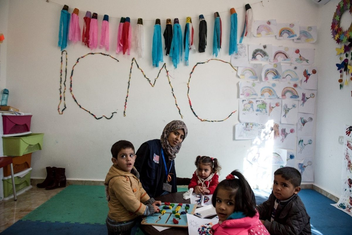 Back to School: Syrian Refugees Have a Chance at an Education Through ICMC's Child Friendly Space